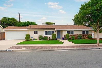 4562 Fort Worth Drive, Simi Valley, CA 93063 - MLS#: 219005440