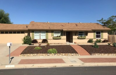 3113 Camino Calandria, Thousand Oaks, CA 91360 - MLS#: 219006367