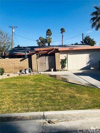 72440 Cactus Drive, Palm Desert, CA 92260 - MLS#: 219007707DA