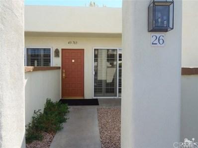 43763 Avenida Alicante UNIT 426-1, Palm Desert, CA 92211 - MLS#: 219007773DA