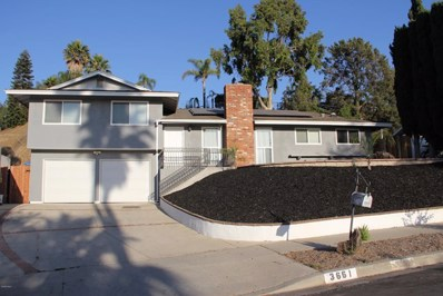 3661 Calle Quebracho, Thousand Oaks, CA 91360 - MLS#: 219009202