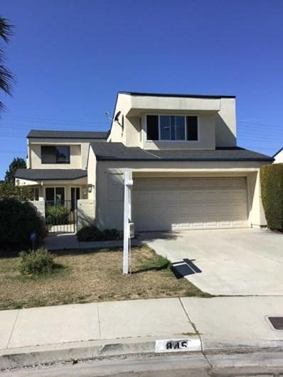 845 Sapphire Avenue, Ventura, CA 93004 - MLS#: 219011325