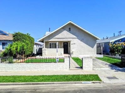 3676 5th Avenue, Los Angeles, CA 90018 - MLS#: 219011683