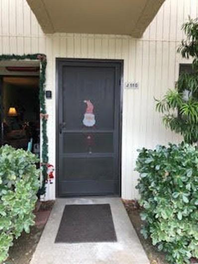 675 Los Felices Circle UNIT 110, Palm Springs, CA 92262 - MLS#: 219035981PS