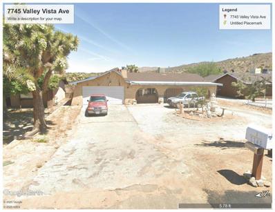 7745 Valley Vista Avenue, Yucca Valley, CA 92284 - #: 219041621DA