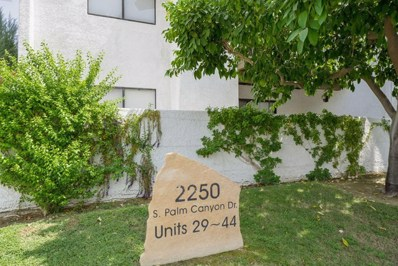 2250 S Palm Canyon Drive UNIT 30, Palm Springs, CA 92264 - MLS#: 219049485DA