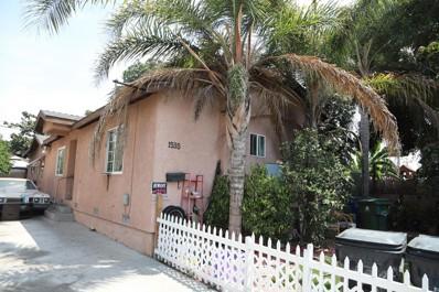 1535 W Gage Avenue, Los Angeles, CA 90047 - MLS#: 219065422DA