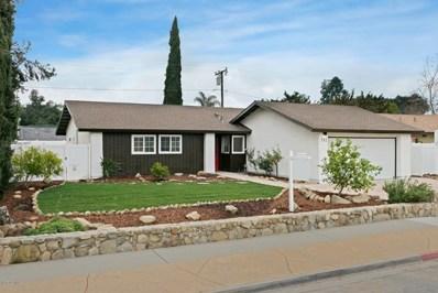 112 Wormwood Street, Ojai, CA 93023 - MLS#: 220000621