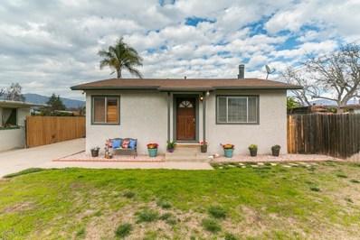 291 Larmier Avenue, Oak View, CA 93022 - MLS#: 220000678