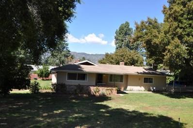 1615 Orchard Drive, Ojai, CA 93023 - MLS#: 220003018