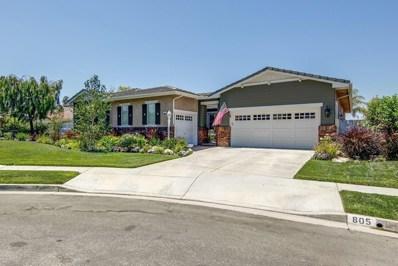 805 Hemlock Ridge Court, Simi Valley, CA 93065 - MLS#: 220008768