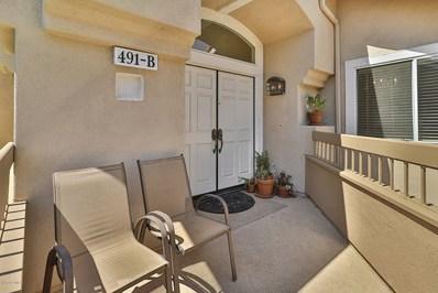 491 Bannister Way UNIT B, Simi Valley, CA 93065 - MLS#: 220009261