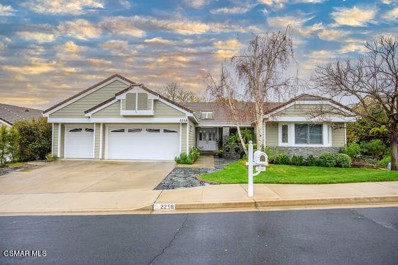 2258 Ranch View Place, Thousand Oaks, CA 91362 - MLS#: 221001141