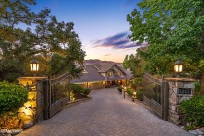 5253 Lakeview Canyon Road, Westlake Village, CA 91362 - MLS#: 221004097