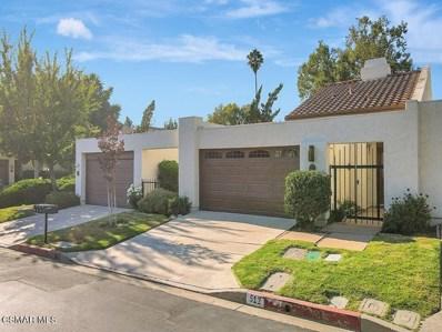 512 Hollyburne Lane, Thousand Oaks, CA 91360 - MLS#: 221004124