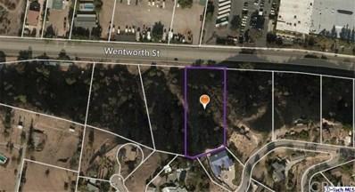 9562 Wentworth Street, Shadow Hills, CA 91040 - MLS#: 317004102