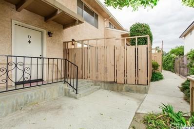 1516 Dixon Street UNIT D, Glendale, CA 91205 - MLS#: 317007154