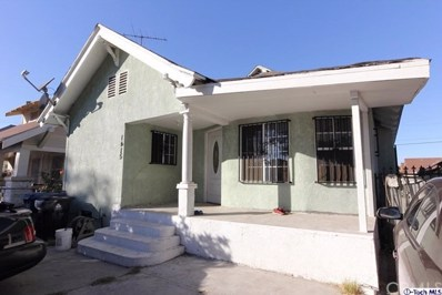 1415 Roland Curtis Place, Los Angeles, CA 90062 - MLS#: 317007325