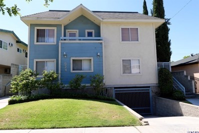 624 Milford Street UNIT 4, Glendale, CA 91203 - MLS#: 317007497