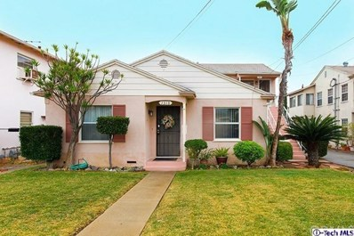 1316 E Orange Grove Avenue, Glendale, CA 91205 - MLS#: 318000096
