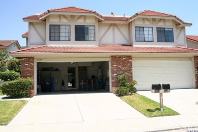 19539 Crystal Ridge Lane, Porter Ranch, CA 91326 - MLS#: 318000519