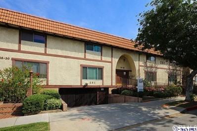 251 W Dryden Street UNIT 20, Glendale, CA 91202 - MLS#: 318001066
