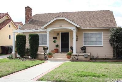 720 Palm Drive, Glendale, CA 91202 - MLS#: 318001202