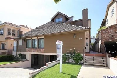 635 E Magnolia Boulevard UNIT B, Burbank, CA 91501 - MLS#: 318001323