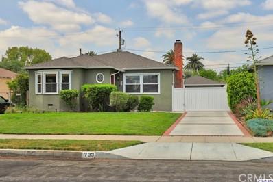 703 N Frederic Street, Burbank, CA 91505 - MLS#: 318001864