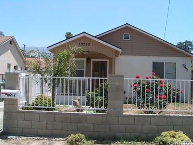 10212 Whitegate Avenue, Sunland, CA 91040 - MLS#: 318002349