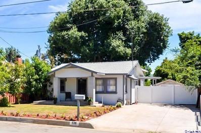 538 W Walnut Avenue, Monrovia, CA 91016 - MLS#: 318002436