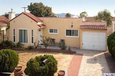 407 S Bel Aire Drive, Burbank, CA 91501 - MLS#: 318003200