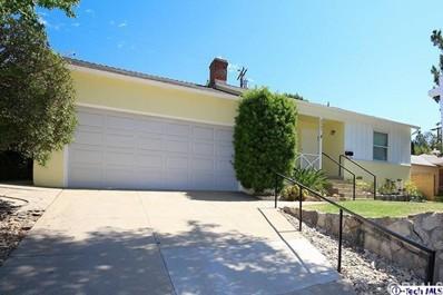 3521 Danny Drive Drive, Glendale, CA 91214 - MLS#: 318003360