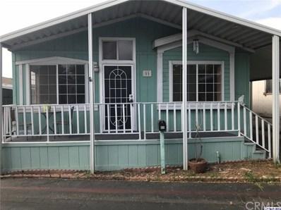 15445 Cobalt Street UNIT SPC, Sylmar, CA 91342 - MLS#: 318003447