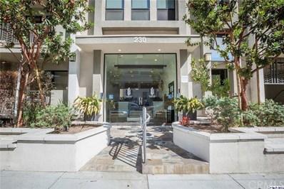 230 S Jackson Street UNIT 201, Glendale, CA 91205 - MLS#: 318003855