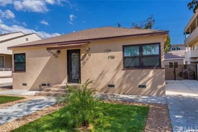 1704 Keeler Street, Burbank, CA 91504 - MLS#: 318004020