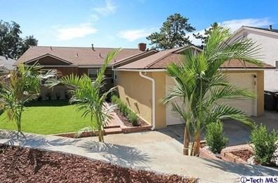 3704 El Moreno Street, Glendale, CA 91214 - MLS#: 318004437