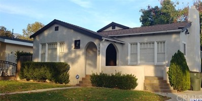 1182 N El Molino Avenue, Pasadena, CA 91104 - MLS#: 318004792