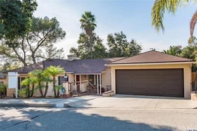 1853 Las Flores Drive, Glendale, CA 91207 - MLS#: 319000376