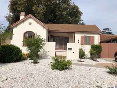 1349 Moncado Drive, Glendale, CA 91207 - MLS#: 319001384