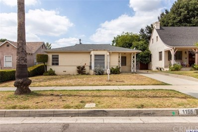 1155 Palm Terrace, Pasadena, CA 91104 - MLS#: 319003697