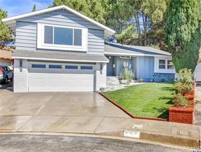 3811 Arnell Place, Glendale, CA 91214 - MLS#: 319003723