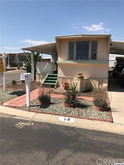 13393 Mariposa Road UNIT 16, Victorville, CA 92395 - MLS#: 320001800