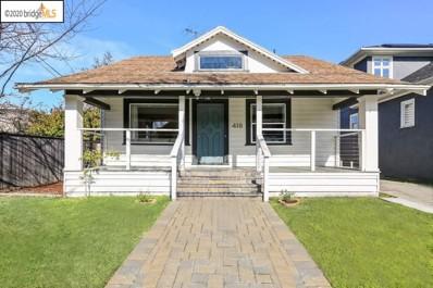 418 43rd Street, Oakland, CA 94609 - MLS#: 40892611
