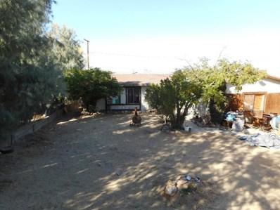 61610 Sunburst Drive, Joshua Tree, CA 92252 - MLS#: 505834