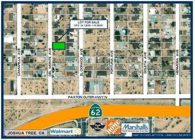 6421 Del Monte Avenue, Yucca Valley, CA 92284 - MLS#: 508222