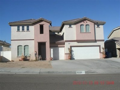 2220 Ruby Drive, Barstow, CA 92311 - #: 508442