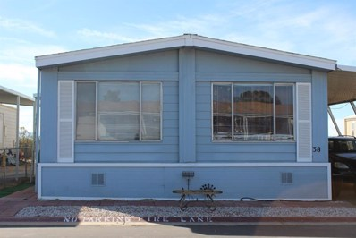 22838 Bear Valley Road UNIT 38, Apple Valley, CA 92308 - MLS#: 510948