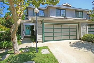 1520 Creekside Court UNIT A, Pasadena, CA 91107 - MLS#: 817001247