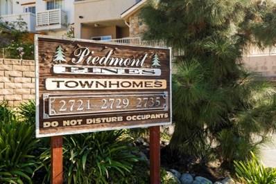 2729 Piedmont Avenue UNIT 1, Montrose, CA 91020 - MLS#: 817002460